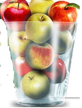 Zumos Naturales. Manzana y Pera.