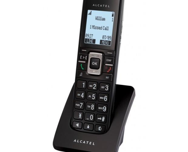 Teléfonos Fijos y Accesorios.Alcatel - IP15 con identificador de llamadas
