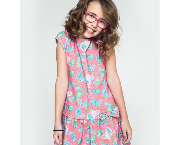 Mapanda vestido. Vestido Butterflies pink