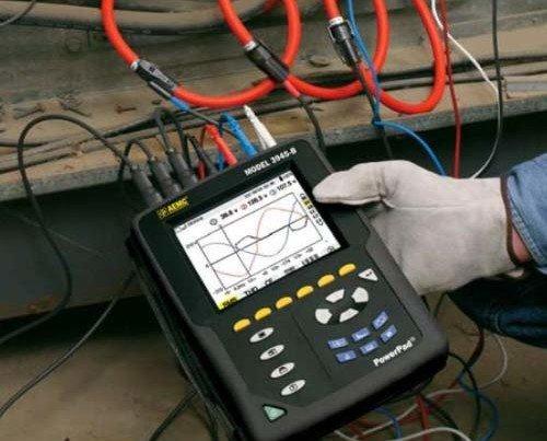 Redes eléctricas. Estudio de armónicos, sobretensiones y energía reactiva.