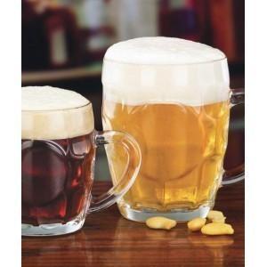 Jarras de Cerveza. Jarras de cerveza en cristal