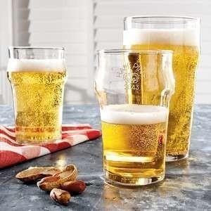 Vasos de Cerveza. Vasos de cristal para cerveza