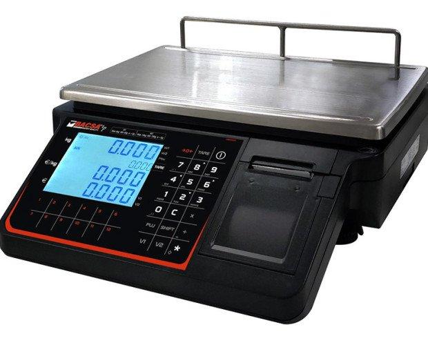 BC1803 (plana). balanza comercial economica con impresora BC-1803