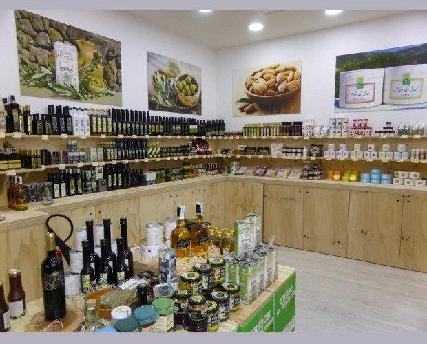 Nuestra tienda. Interior de la tienda de Palma de Mallorca