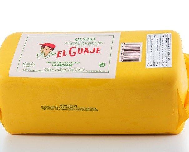 Queso de Vaca.Queso en Barra - EL GUAJE