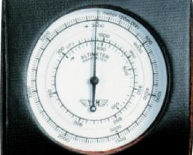 Instrumentos de Medición Electrónica.Altímetro