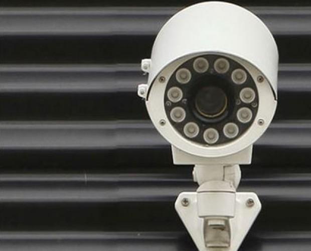 control de accesos. cámara de seguridad