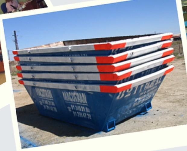 contenedores. Disponemos de contenedores para la construcción