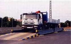 Para camiones. Las básculas más resistentes del mercado