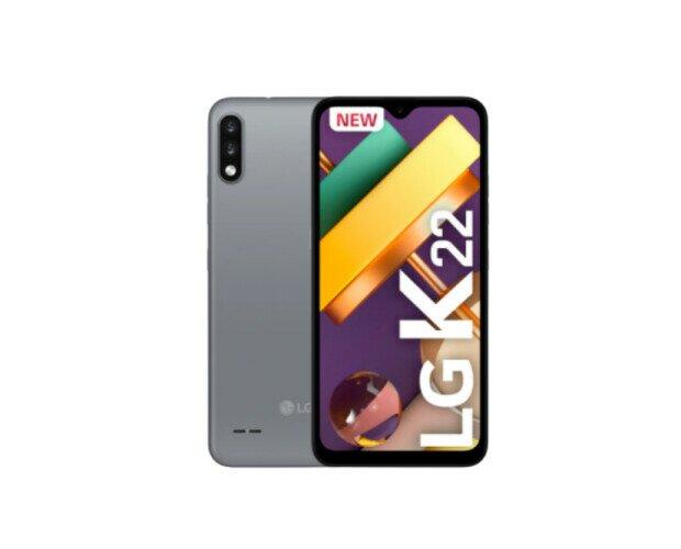 LG K22. Es una buena opción para todos los interesados en un celular gama media