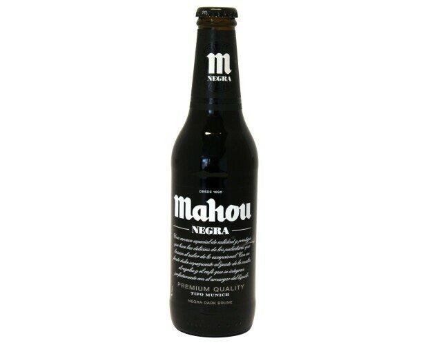 Cerveza Mahou Negra. Nuestra segunda cerveza más antigua