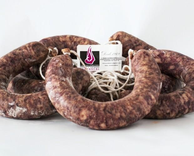 Chorizo Blanco Carrascal. Chorizo Blanco elaborado con carnes selectas de cerdos criados en Extremadura