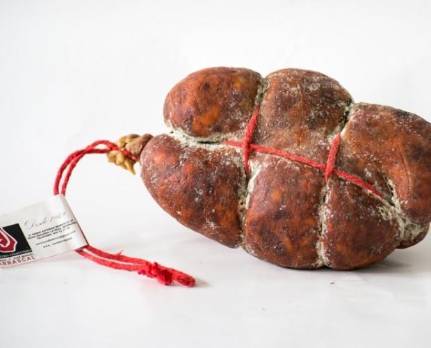 Morcón de Chorizo. Fabricado de forma artesanal
