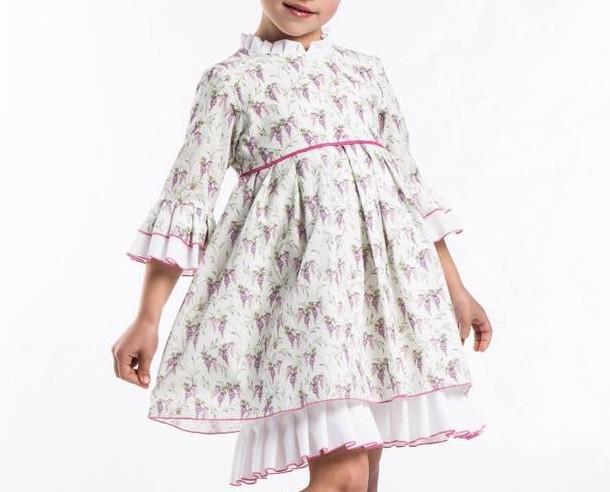 Vestidos infantiles. Vestido infantil estampado