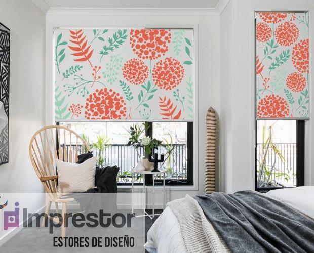 Cortinas de diseño. Impresión digital y fotográfica de cortinas