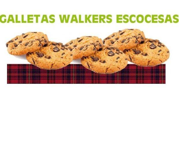 Galletas walkers. Escocesas