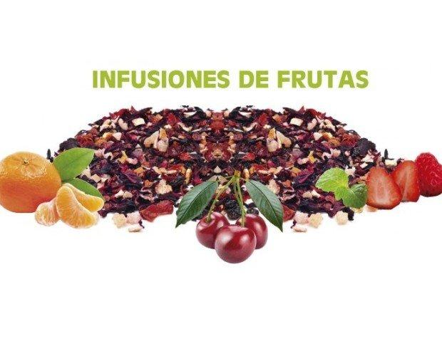 Infusiones de frutas. Frutas