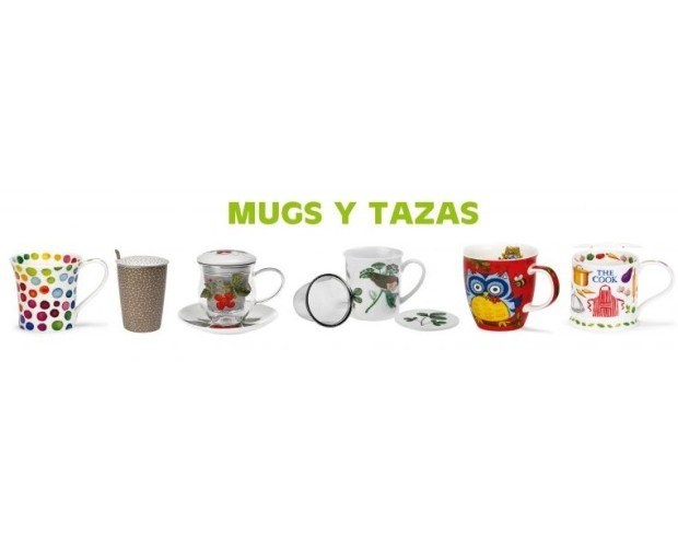 Mugs. Tazas