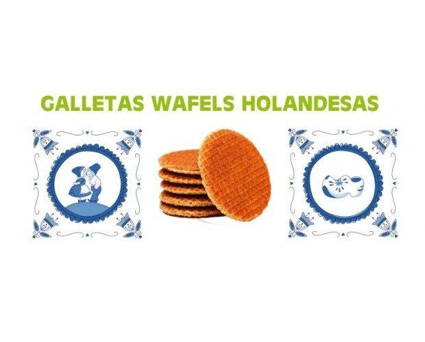 Wafels. Galletas wafels