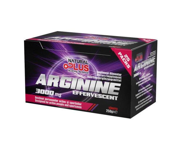 Arginina Efervescente. Recomendable para el crecimiento y la recuperación.