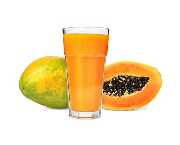 Papaya nacional. Elaborada con Papaya producida por nuestra empresa.