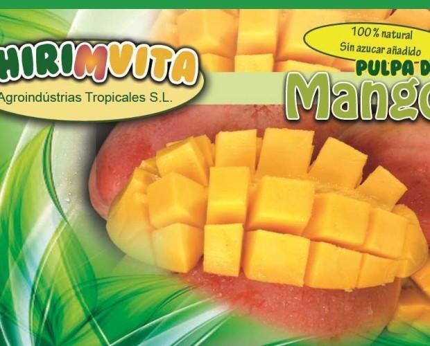 Pulpa de Mango. Magno cultivado en la Costa Tropical de Granada