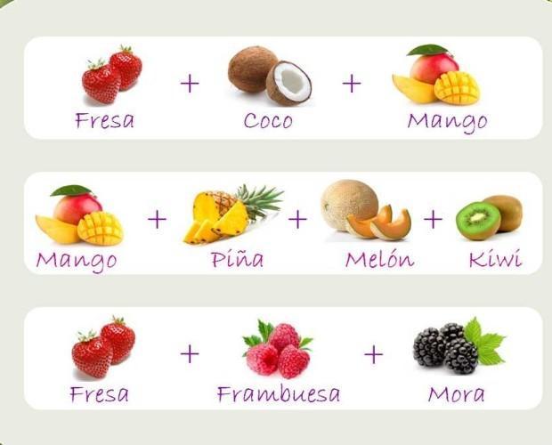 Smoothie Tradiconal. Elaborados con la mezcla de las mejores frutas.