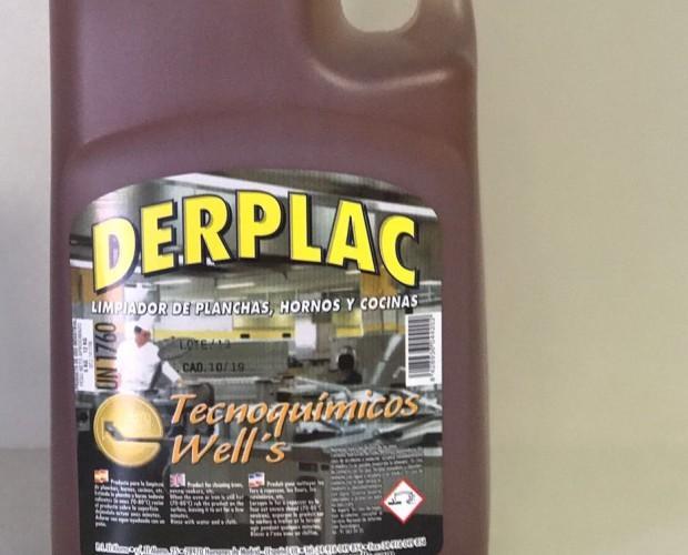 Derplac desengrasante . Probablemente, el mejor limpiador de Hornos y Planchas que se fabrica en la Comunidad de Madrid. Efecto inmediato