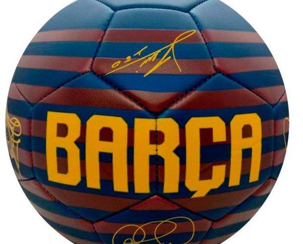 Balon FC Barcelona. Balón grande, con Rayas