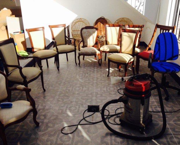 Limpieza de sillas. Servicios de calidad al mejor precio