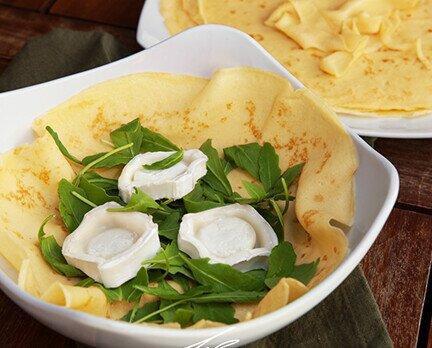 Gallete Salada. Concepto Salado, Gallete de trigo de sarraceno: