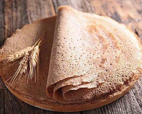 Crepes de trigo sarraceno. Para los que buscan una alternativa más sana