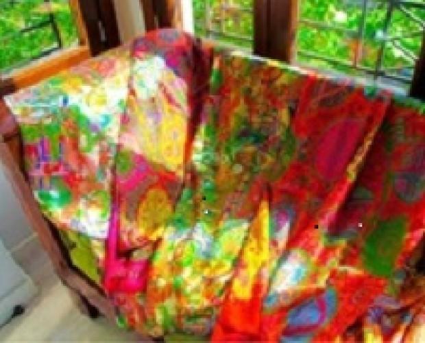 Fulares de seda. Fulares, chales y pañuelos de seda Julunggul