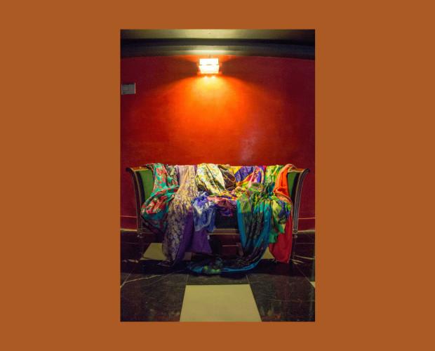 Bufandas y Chales.Complementos y ropa de seda: fulares, pañuelos, chales