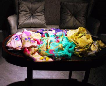 Fulares de seda. Fulares de seda, pashminas, pañuelos, bufandas