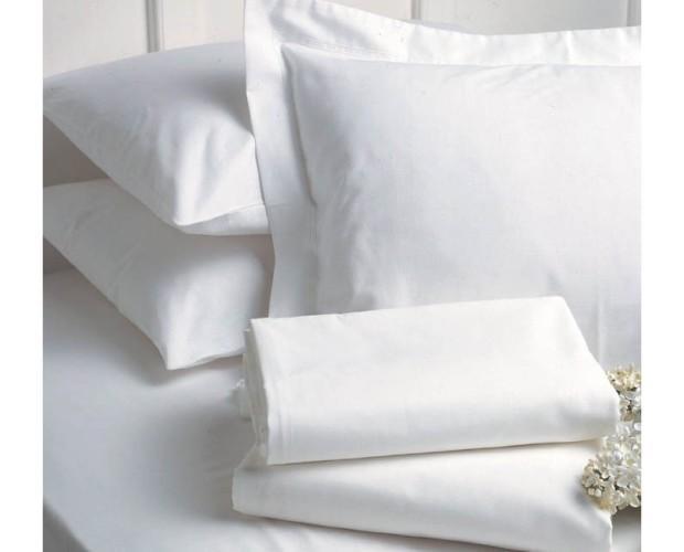 Textil del Hogar. Fundas de Almohada para el Hogar. 100% puro algodón percal