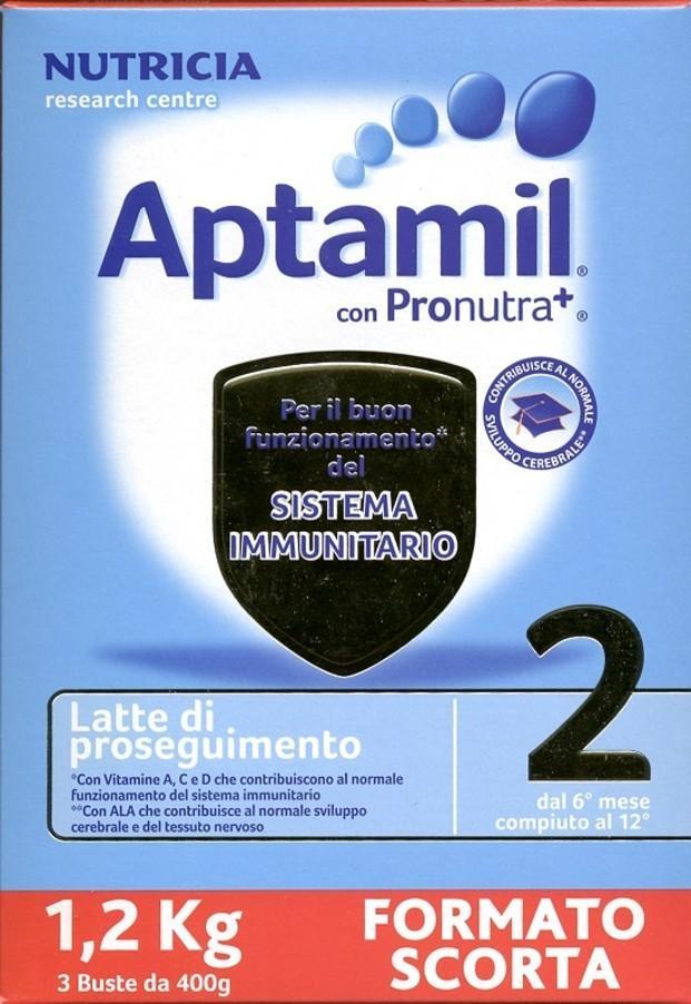 Aptamil. Leche infantil Aptamil, origen Italia para exportar a Hong Kong.