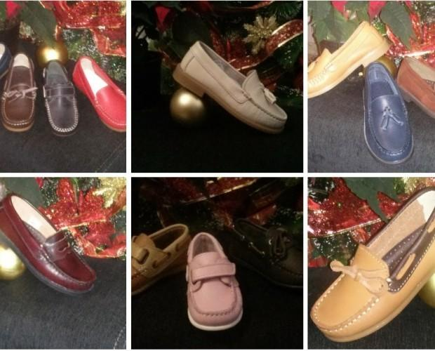 Calzado para Niños. Zapatos Náuticos para Niños. La muestra de nuestra campañas