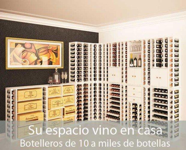 Espacios de vino en casa. Confort y elegancia en el hogar