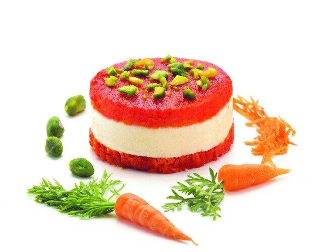 Divo Carrot Cake. Bizcocho de zanahoria bañado en almíbar y crema de queso mascarpone.