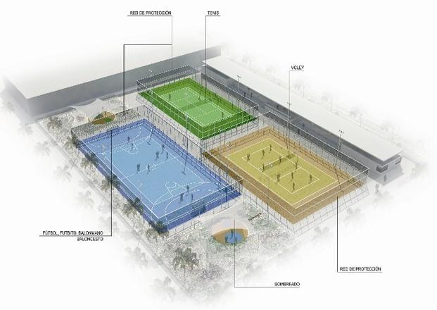 Redes deportivas. Fútbol, tenis, padel, golf, baloncesto, etc.