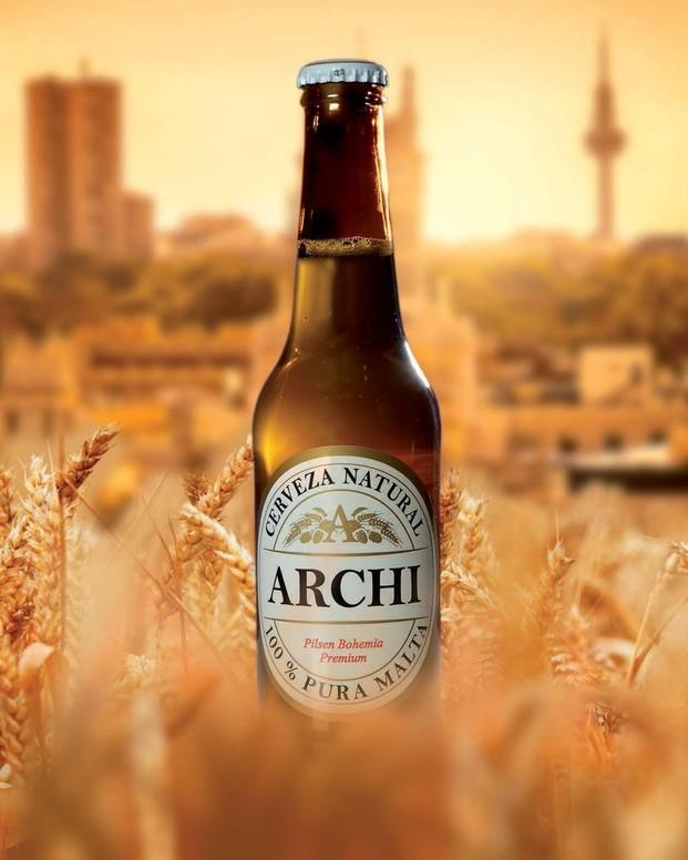 ARCHI Pilsen Bohemia. Cerveza natural de pura malta de cebada