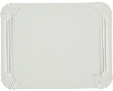 Bandeja rectangular de cartón. Bandeja rectangular en cartón blanco en diferentes medidas.