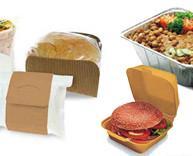 Envases Desechables.Recipientes de plástico, aluminio y cartón