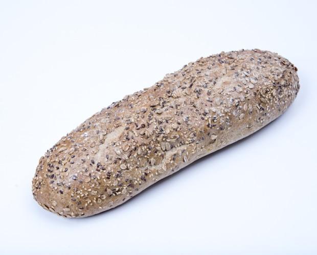 Pan 7 cereales. Su equilibrada combinación de cereales lo convierte en un pan de gran sabor, aroma y frescura.