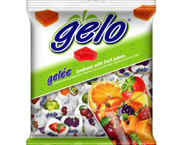 Caramelos Gelo. Caramelos pectina surtidos de frutas
