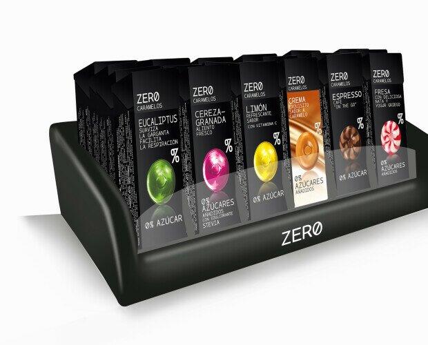 Caramelos Zero. Caramelo duro sin azúcar. Formato individual 32gr
