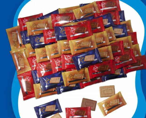 Chocolates de Cortesía.Galletas de cortesía surtida de varios sabores