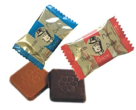 Napolitana Aldea. Chocolate surtido. Napolitana Aldea