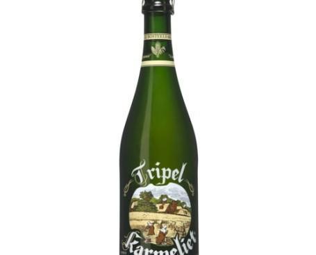Triple Karmeliet. Cerveza belga de alta fermentación, con segunda fermentación en botella